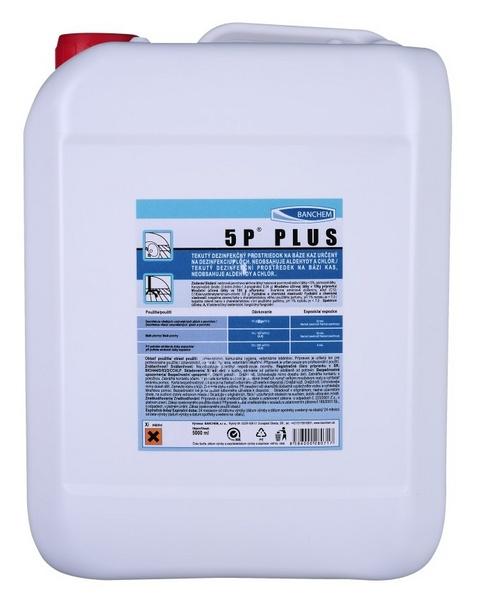 5P PLUS 5l dezinfekce