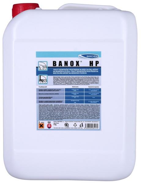 BANOX HP 5kg dezinfekce