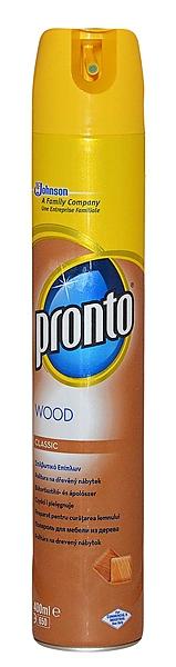 PRONTO WOOD POLISH HNĚDÉ 400ml spray