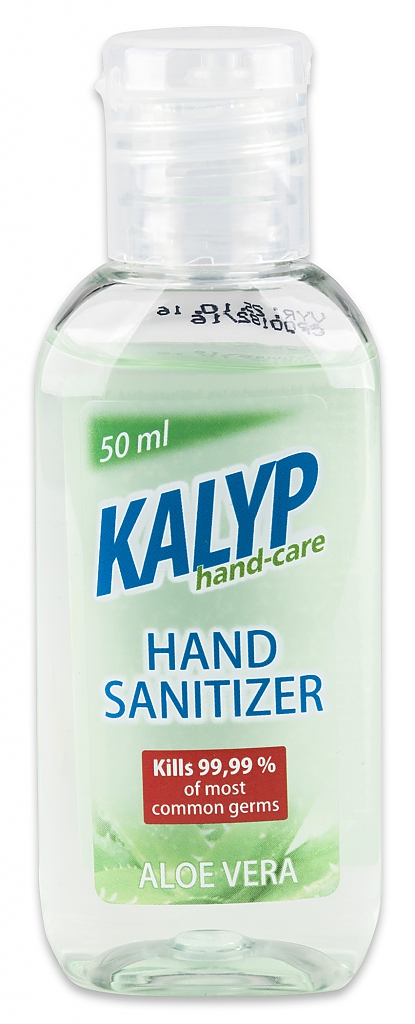 KALYP HAND SANITIZER 50ml dezinfekční gel na ruce