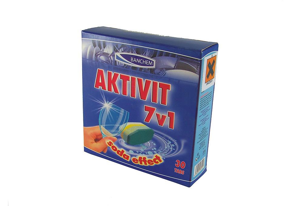 AKTIVIT TABS 7v1 30ks tablety do myčky