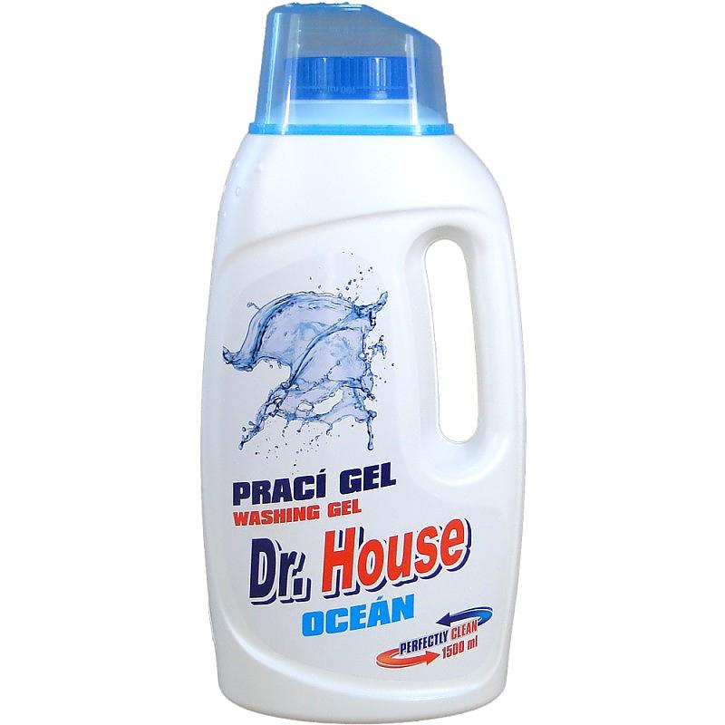 Dr.HOUSE PRACÍ GEL 1,5l OCEÁN