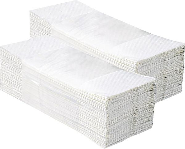 ALTER COMFORT pap.ručníky Z-Z bílé 2V rec.3000ks