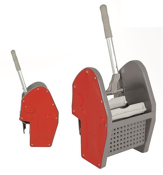 Ždímač TEC s plastovými lištami červený