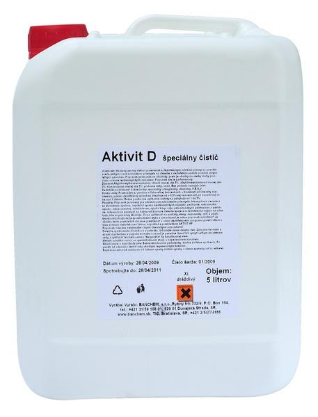 AKTIVIT D 5l dezinfekce KAS do potravinářství