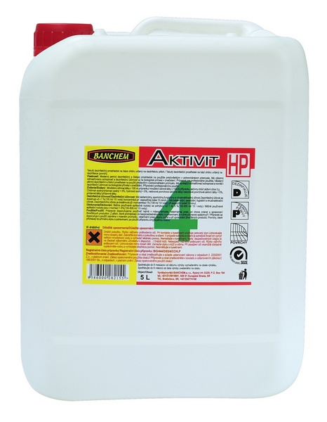 AKTIVIT HP 5l dezinfekce do potravinářství