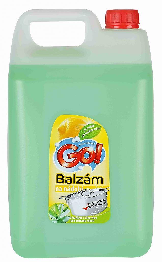 GO! BALZÁM na nádobí CITRON 5l