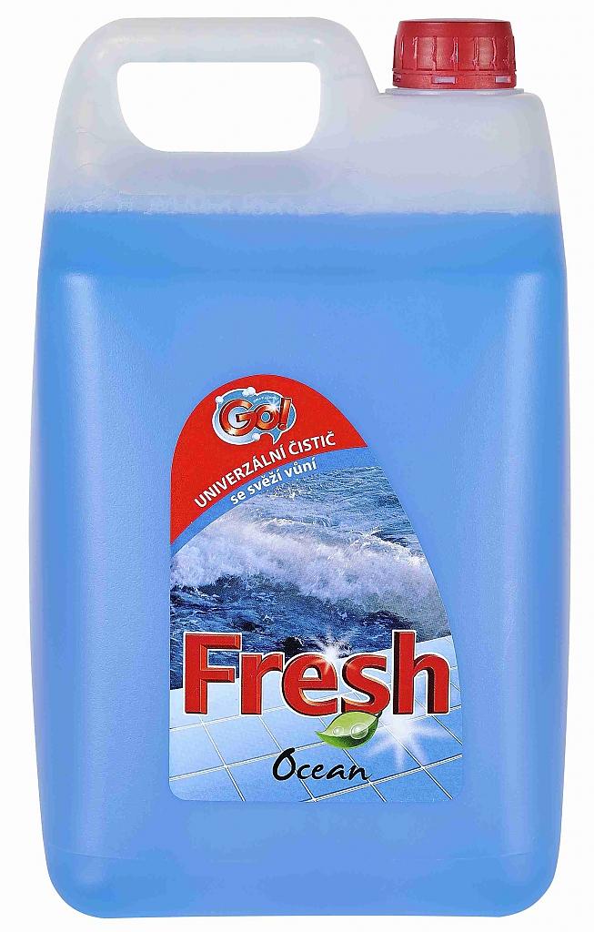 GO! FRESH OCEAN 5l modrý univerzální čistič