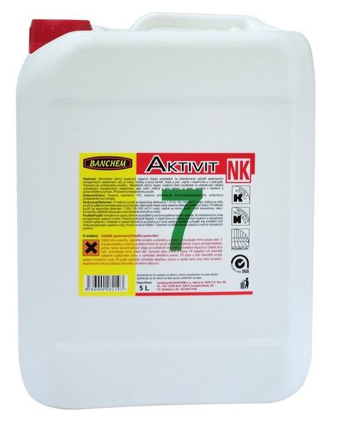 AKTIVIT NK 5l kyselý nepěnivý čistič