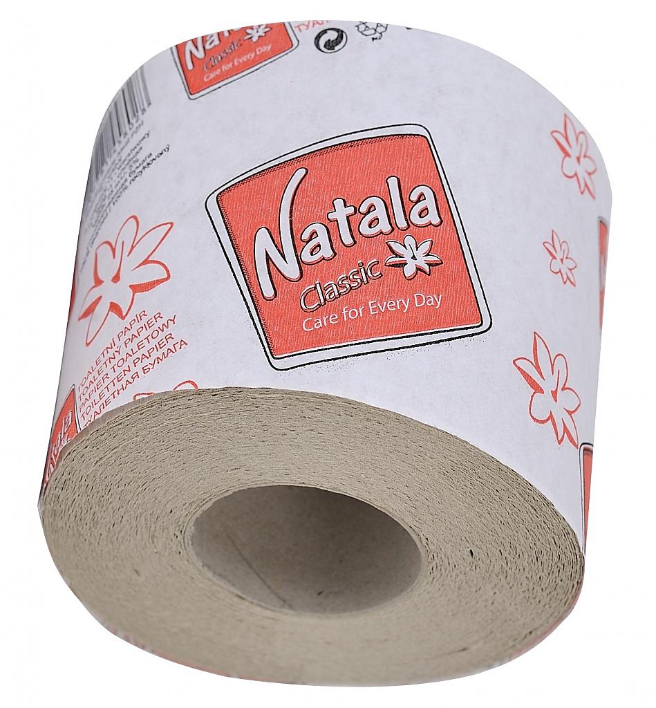 NATALA toaletní papír 400, 30m návin 1-vrstvý