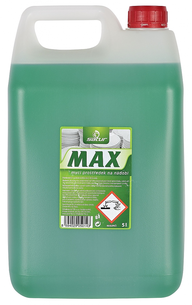 SATUR MAX na nádobí 5l