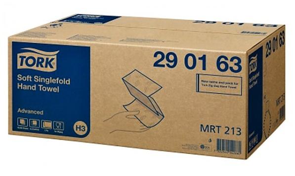 TORK Singlefold pap.ručníky 2V bílé 3750ks 290163