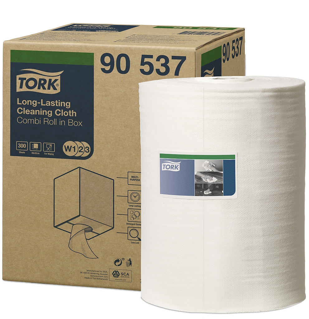TORK Long-Lasting čisticí utěrky 300 útržků 90537