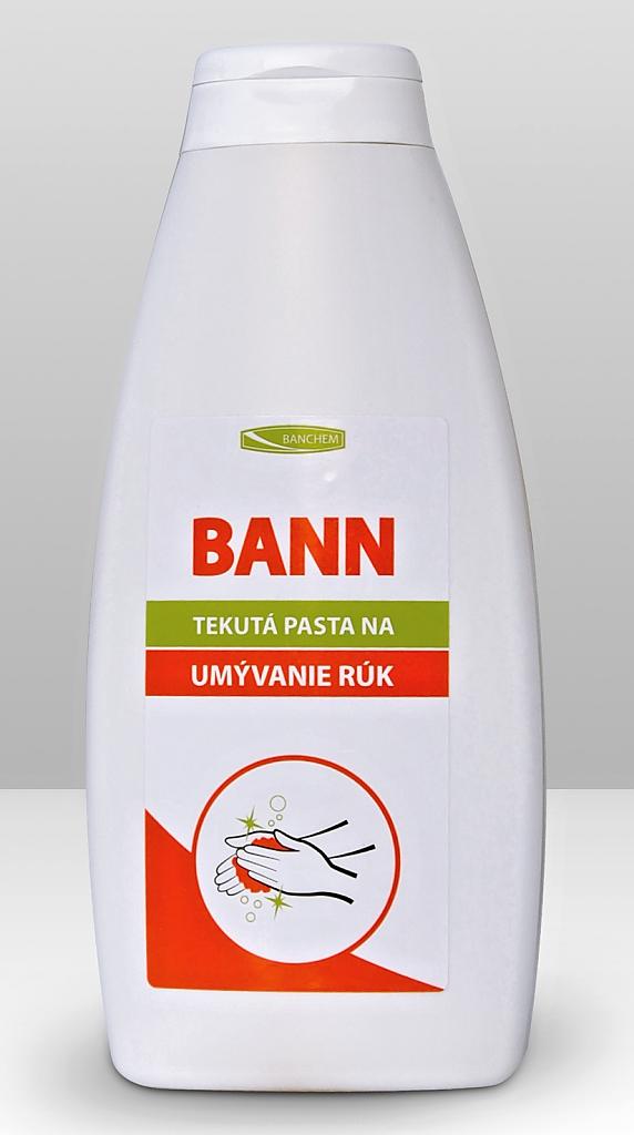 BANN tekutá mycí pasta 400ml