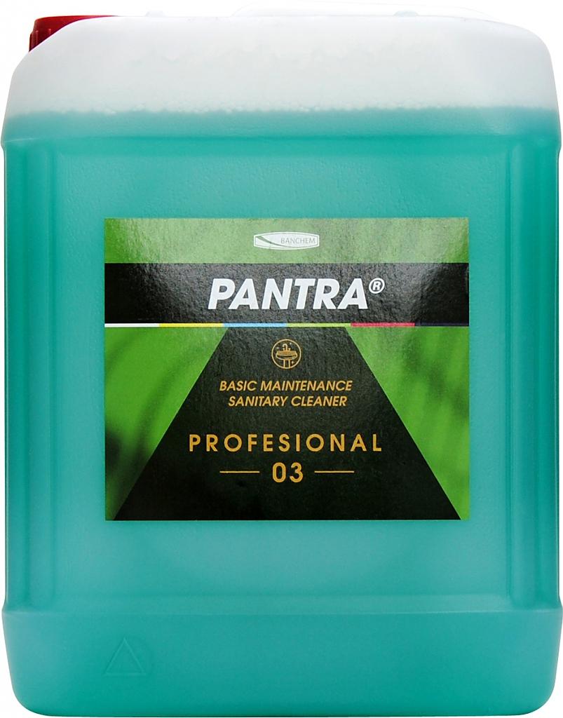 PANTRA PROFESIONAL 03 5l udržovací kyselý čistič