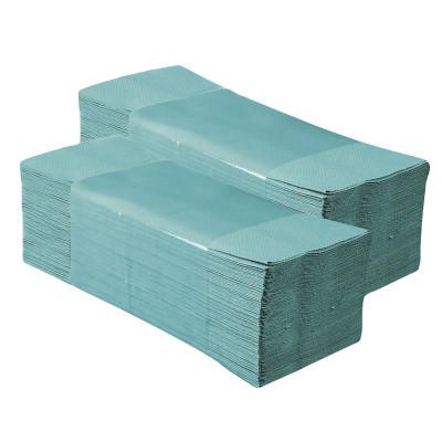ALTER CLASSIC pap.ručníky Z-Z zelené 1V 5000ks