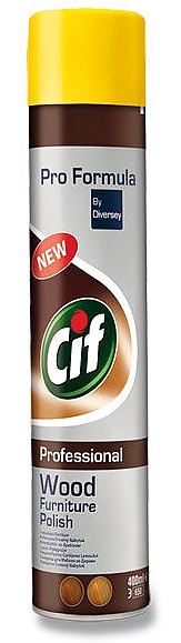 CIF WOOD POLISH HNĚDÉ 400ml spray