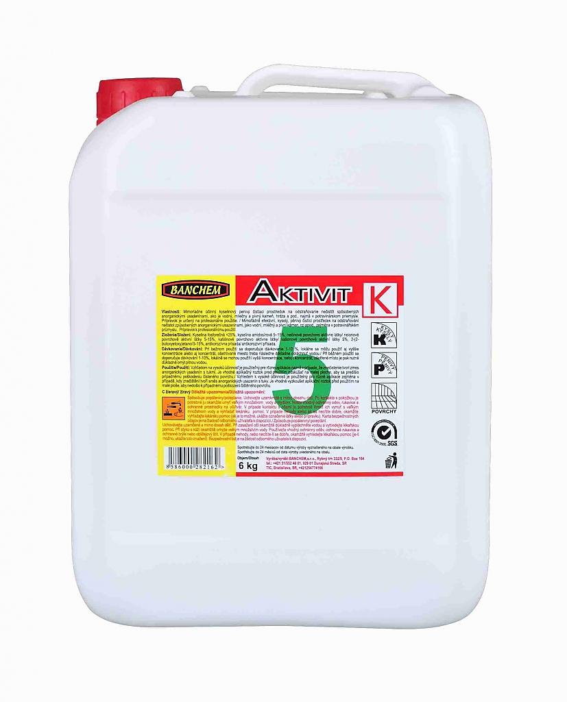 AKTIVIT K 6kg kyselý pěnivý čistič