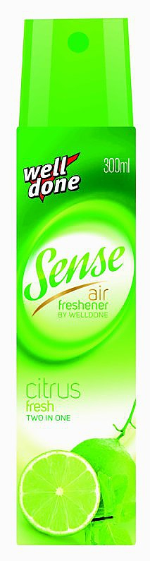 SENSE osvěžovač spray 300ml CITRUS (LIME)