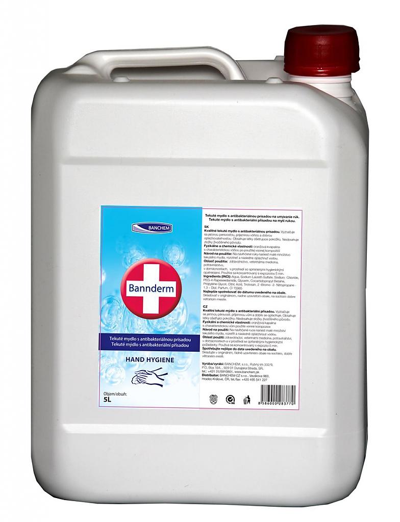 BANNderm 5l tekuté mýdlo s antibakt. přísadou