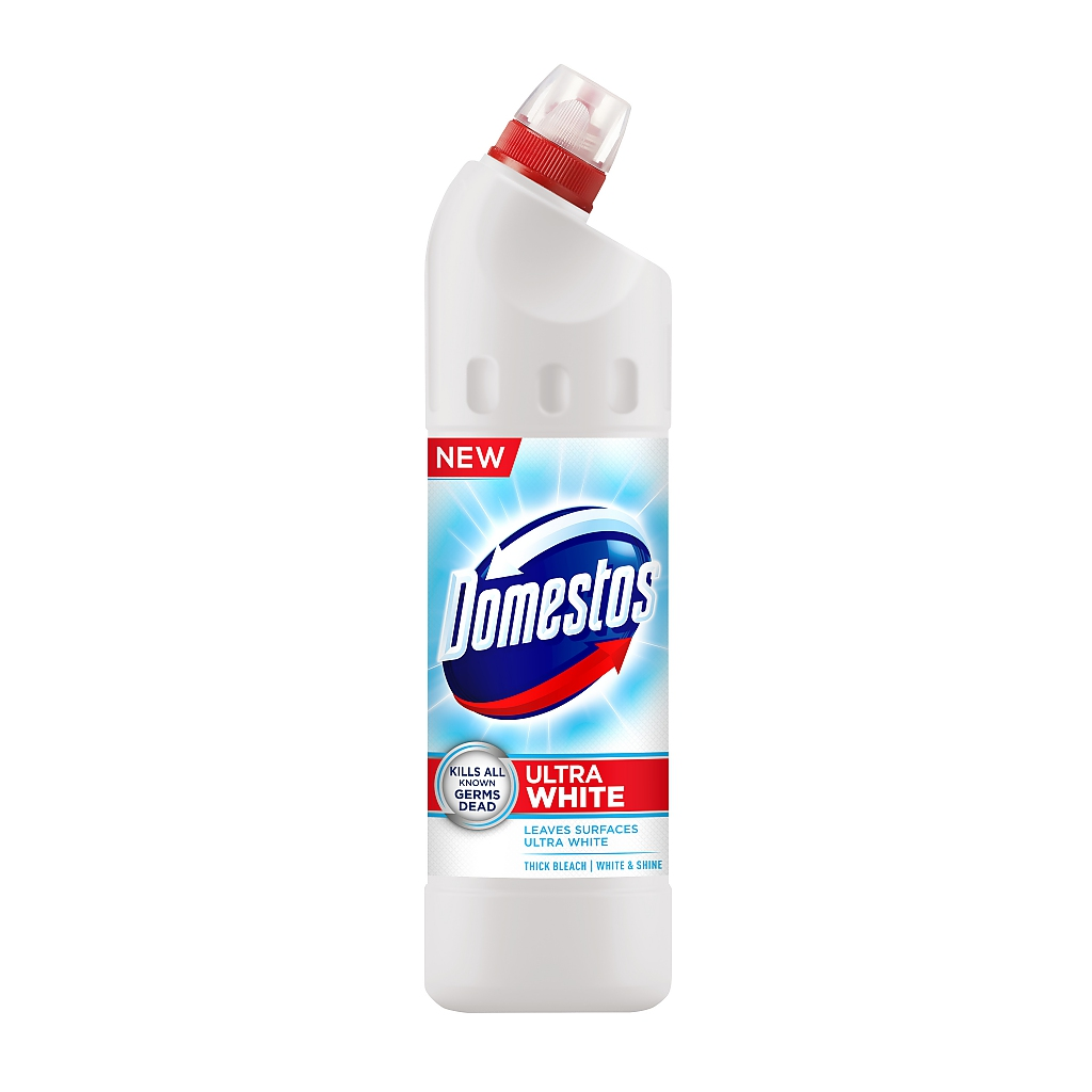 DOMESTOS 24H WHITE&SHINE 750ml bílý