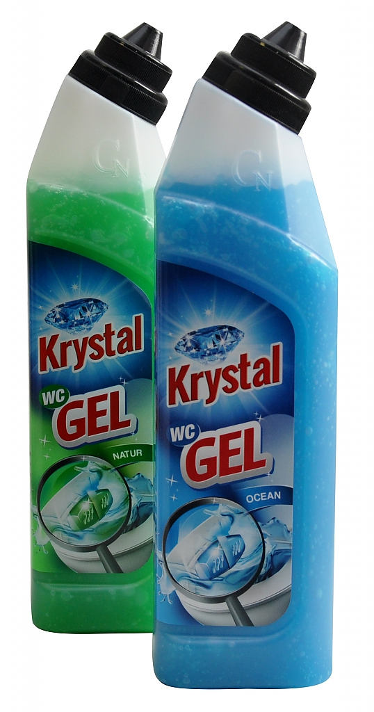 KRYSTAL WC GEL 750ml gel do košíčků