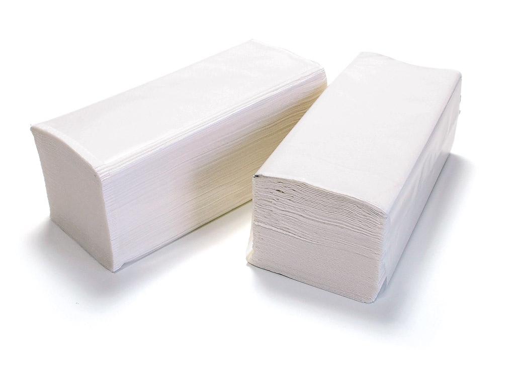 ALTER DELUXE pap.ručníky Z-Z bílé 2V cel. 4000ks