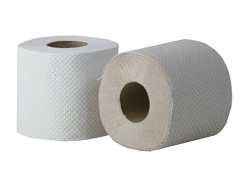 ELFI toaletní papír 1-vrstvý šedý 50m bílý přebal