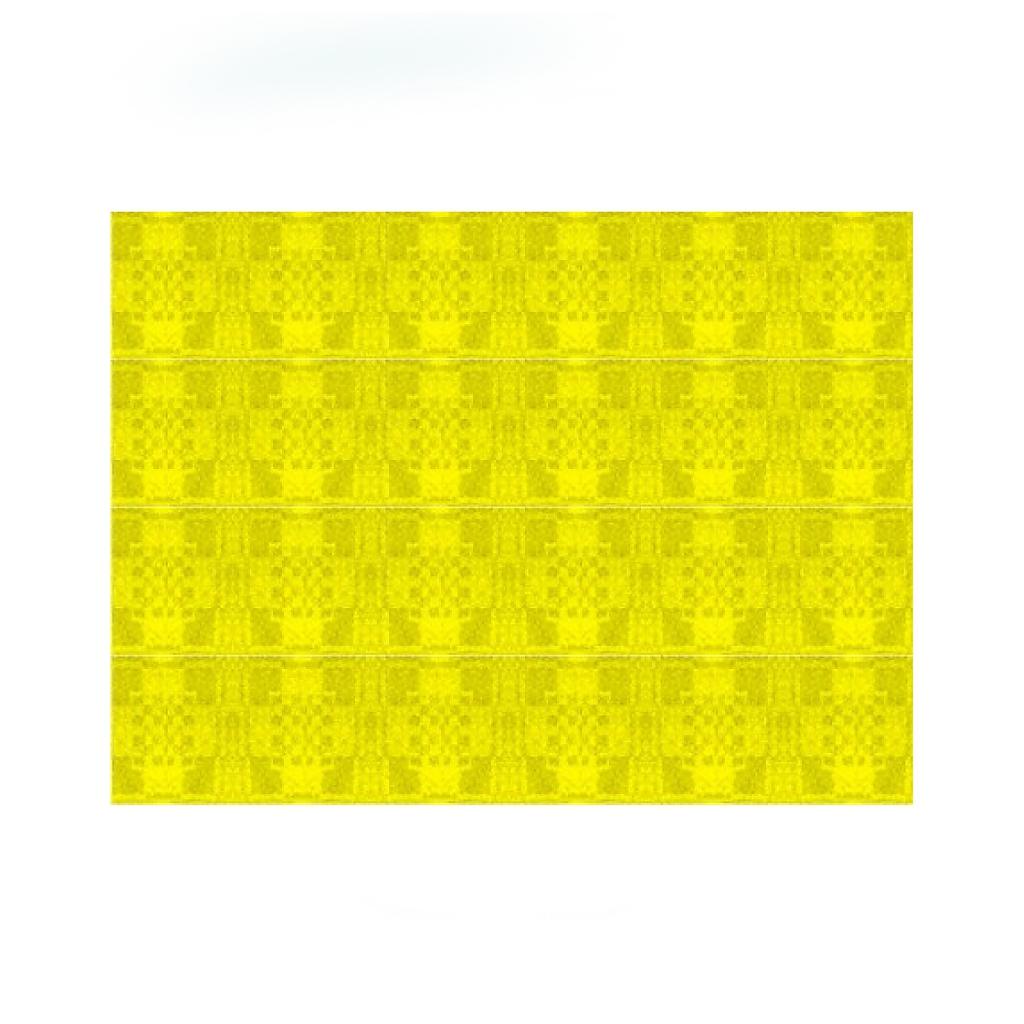 Papírové prostírání 30x40cm žluté
