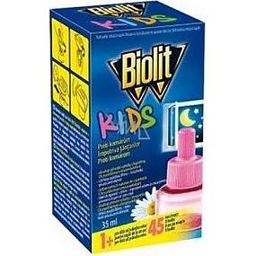 BIOLIT KIDS náplň proti komárům 35ml 45 nocí