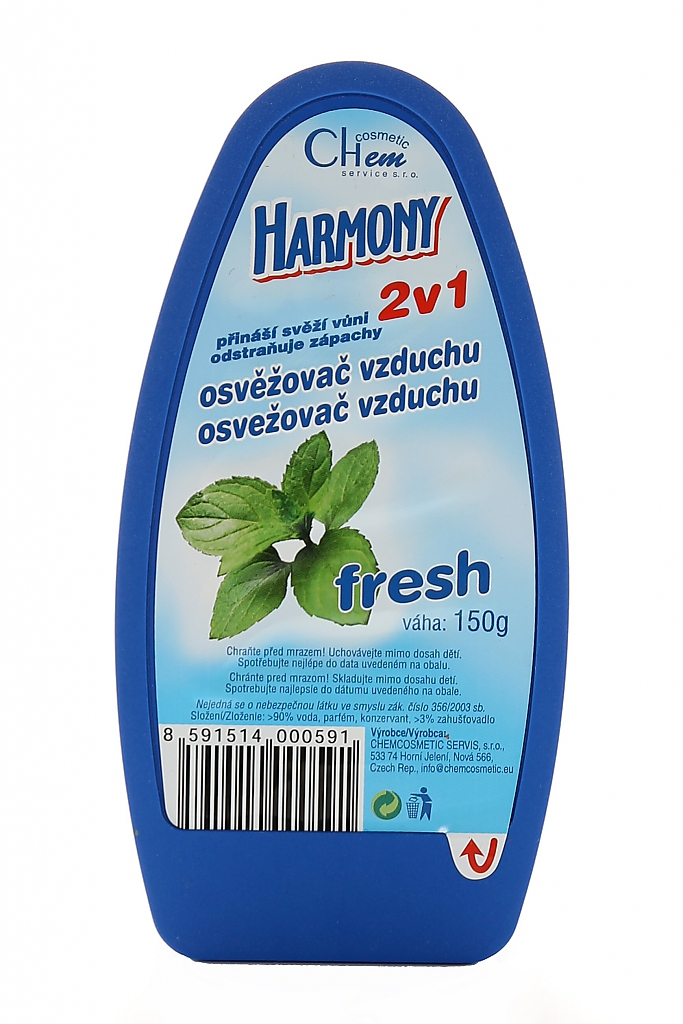 HARMONY GEL osvěž.vzduchu 150g FRESH (Q POWER)