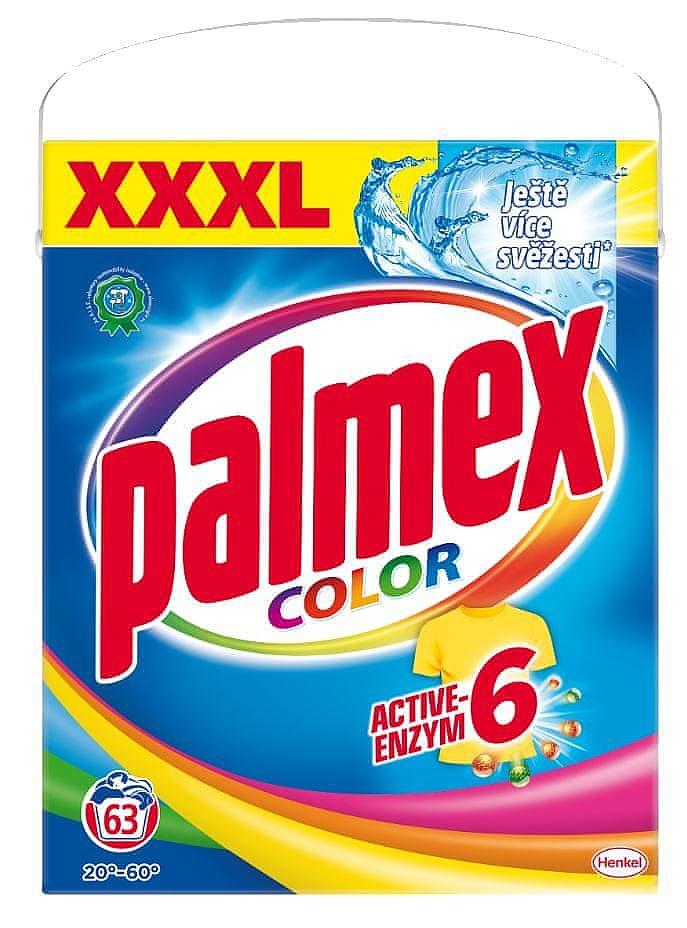 PALMEX 4,1kg 63 pracích dávek COLOR BOX