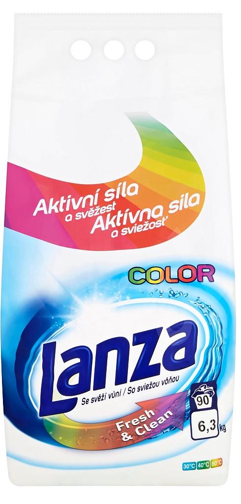 LANZA COLOR 6,3kg na barevné prádlo 90PD
