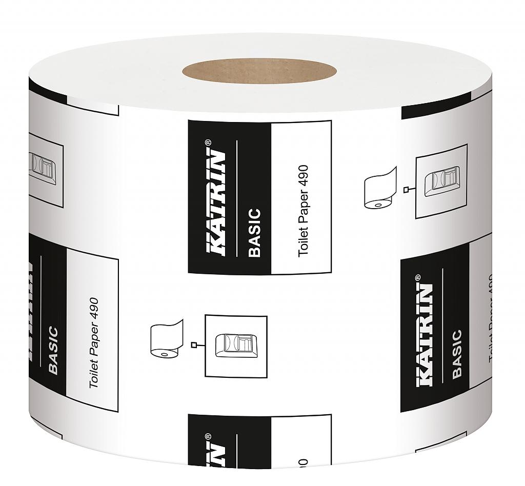 KATRIN TOILET 490 toalet.papír 2-V 68m 12540/83405