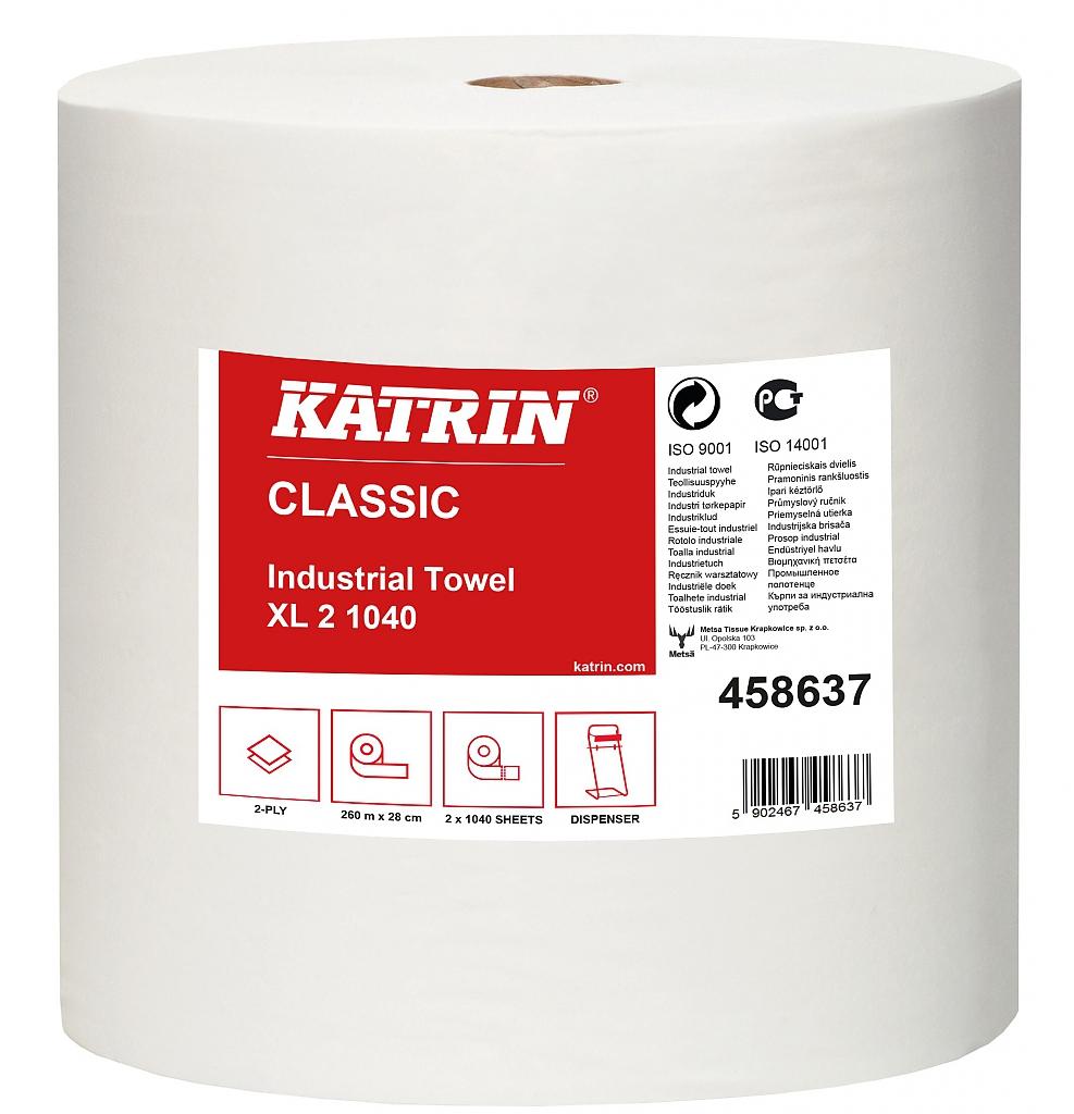 KATRIN CLASSIC XL2 1040 útržků prům.role bílá 260m