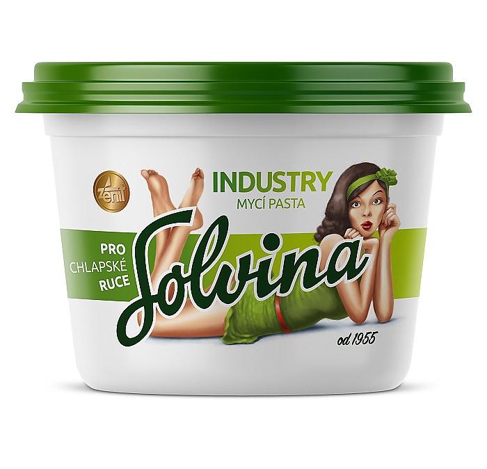 SOLVINA industry 450g mycí pasta na ruce ZELENÁ