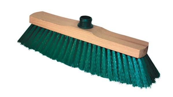 SMETÁK na hůl nelakovaný + HŮL dřevěná 120cm závit