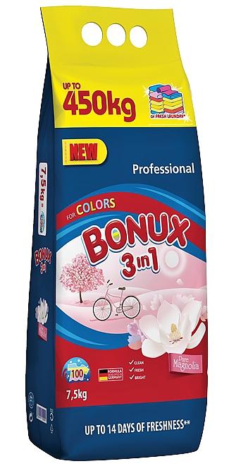 BONUX 7,5kg pr. prášek 100PD COLORS Pure Magnolia