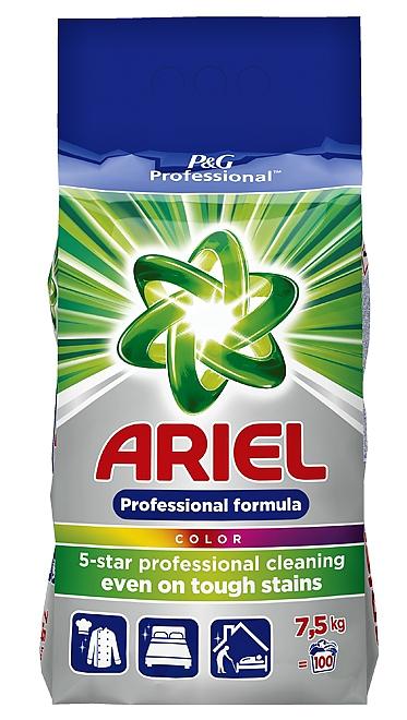 ARIEL Professional 7,5kg color prací prášek 100PD