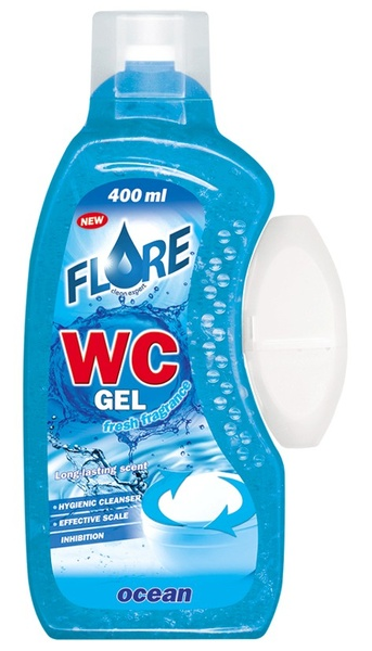 FLORE WC GEL 400ml OCEAN gel do košíčků toalet