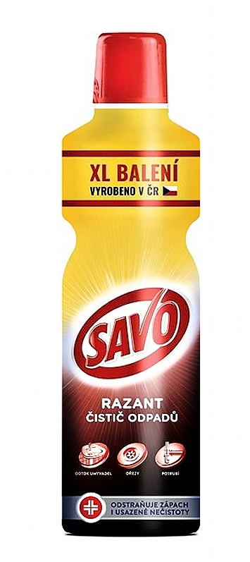 SAVO RAZANT 1,2l čistič odpadů