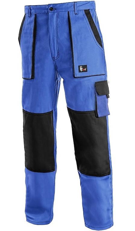 Kalhoty LUX JOSEF montérkové modro-černé vel. 66