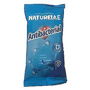 NATURELLE antibakt.vlhč.ubrousky D-Panthenolem15ks