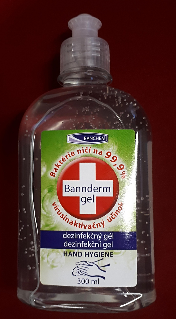 BANNderm GEL 300ml dezinfekční gel na ruce