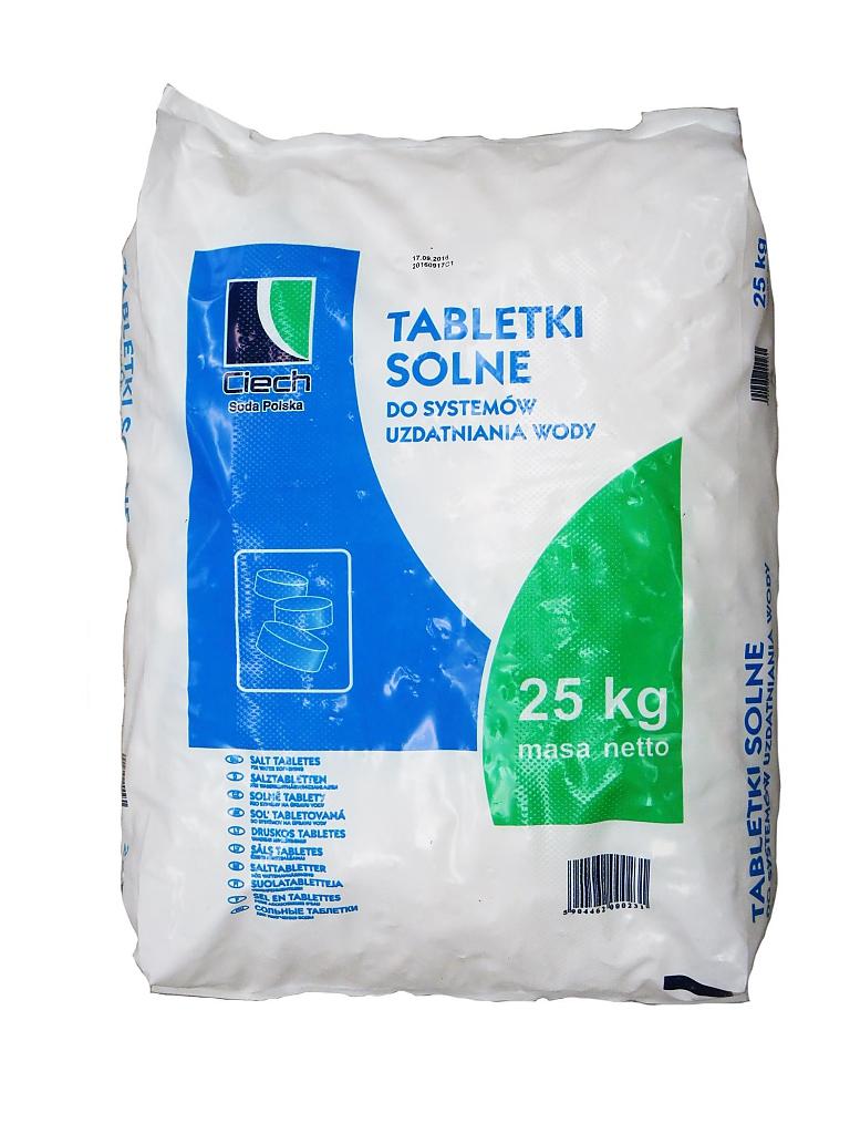 SŮL TABLETOVÁ 25kg pytel