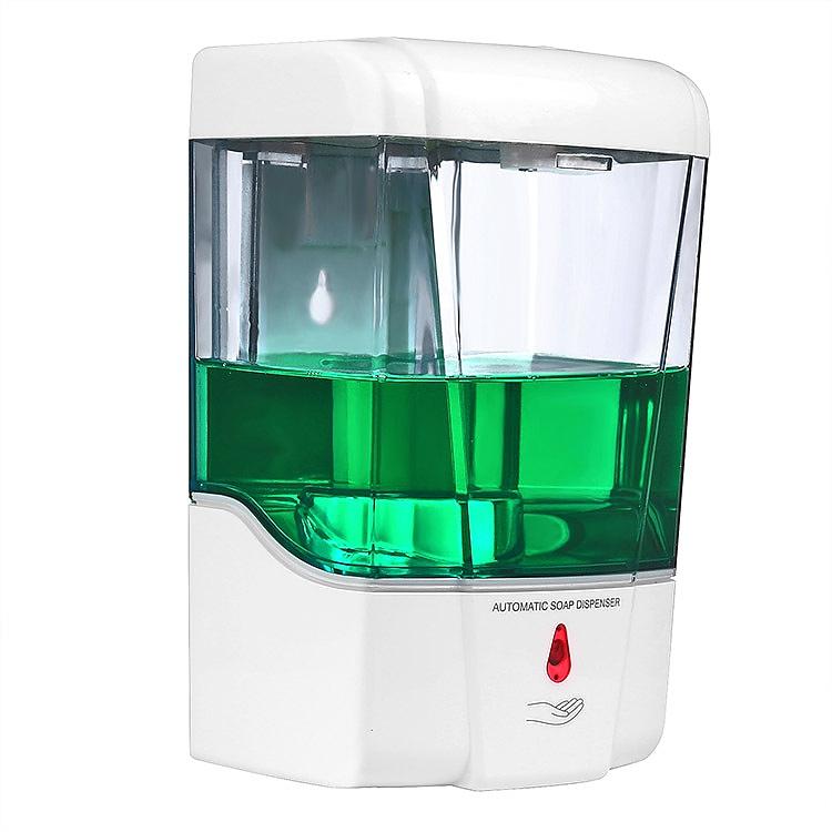 Bezdotykový dávkovač 700ml na mýdlo i dezinfekci