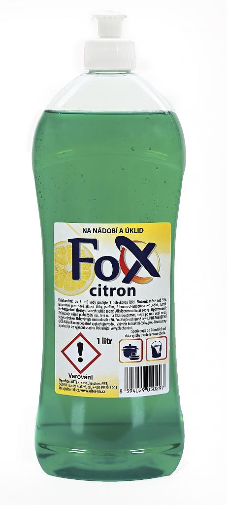 FOX CITRON 1l na nádobí a úklid