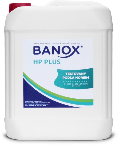 BANOX HP PLUS 5kg dezinfekce