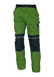 STANMORE kalhoty do pasu zelené