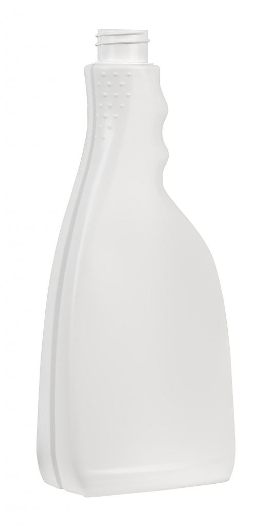 Láhev ZINA PE bílá 500ml šroubovací 28/410